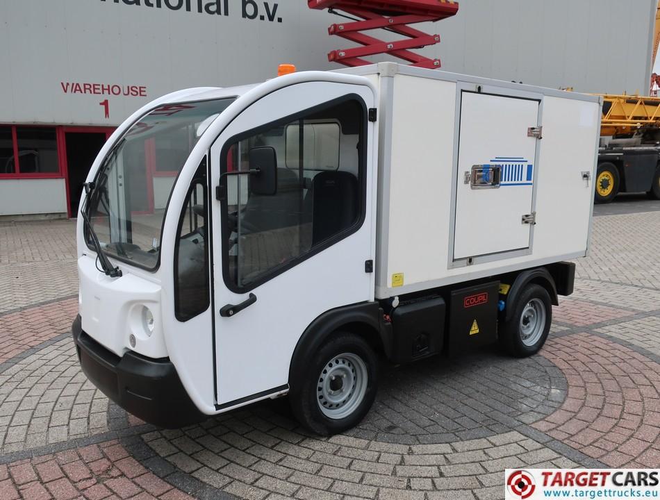 GOUPIL G3 ELECTRIC UTILITY VEHICLE UTV BOX LONG FRIDGE/FREEZER THERMO-KING VAN 06-2012 WHITE 11755KM