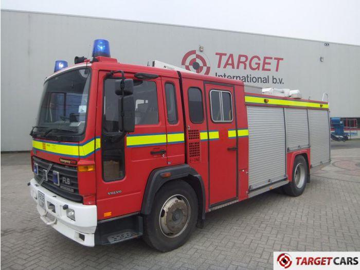 VOLVO FL6-14 FIRE ENGINE 5480CC RED 11-1999