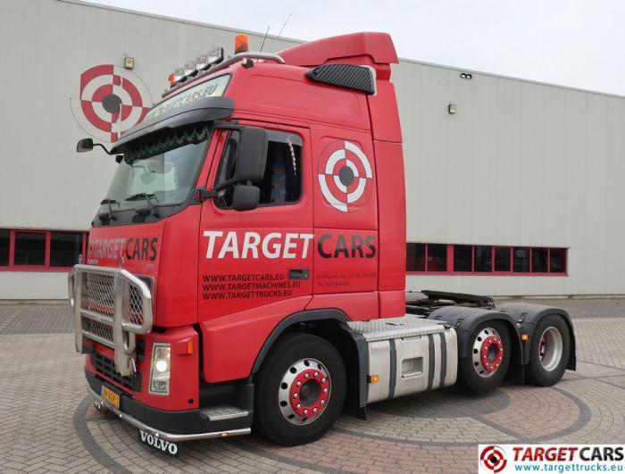 VOLVO FH400 D13 6x2 TRACTOR 01-08 486342KM GLOBETROTTER XL I-SHIFT RED EURO4 NL REG