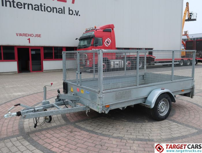 HUBIERE H211L TIPPER 1-AXLE EQUIPMENT TRAILER 08-2013 1300KG