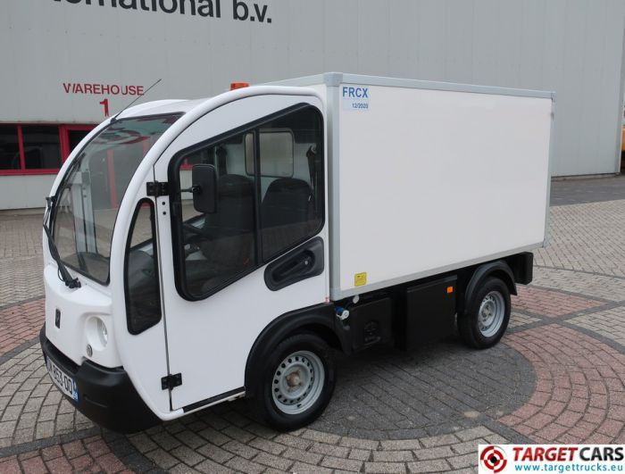 GOUPIL G3 ELECTRIC UTILITY VEHICLE UTV BOX LONG FRIDGE FREEZER THERMO-KING VAN 12-2014 WHITE 18182KM