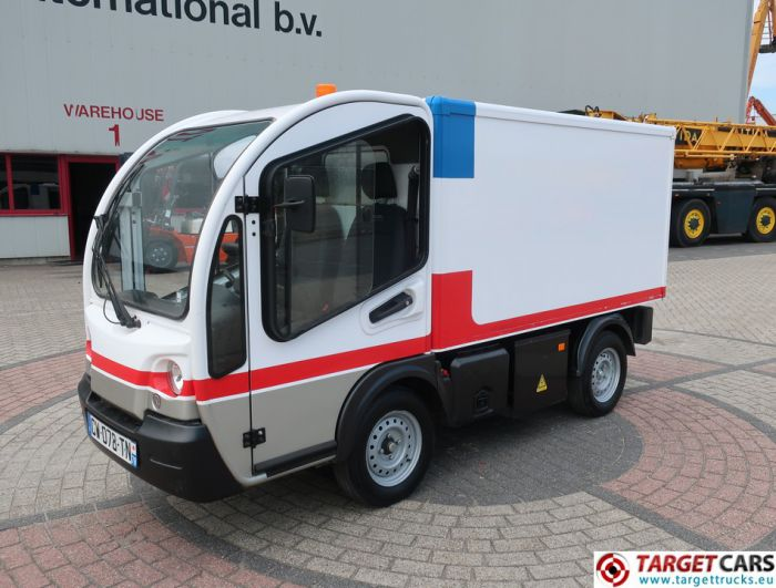 GOUPIL G3 ELECTRIC UTILITY VEHICLE UTV CLOSED BOX LONG VAN 07-2013 WHITE 29125KM