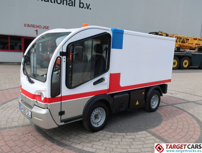 GOUPIL G3 ELECTRIC UTILITY VEHICLE UTV CLOSED BOX LONG VAN 07-2013 WHITE 28910KM