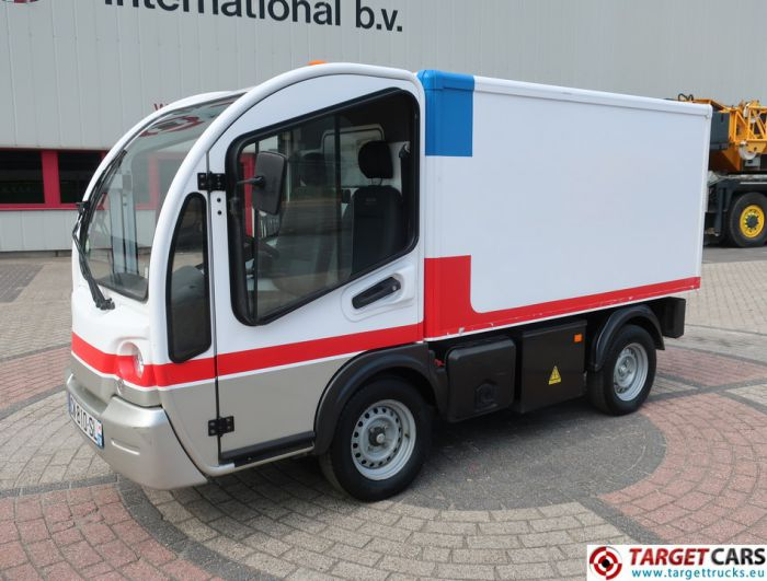 GOUPIL G3 ELECTRIC UTILITY VEHICLE UTV CLOSED BOX LONG VAN 07-2013 WHITE 23933KM