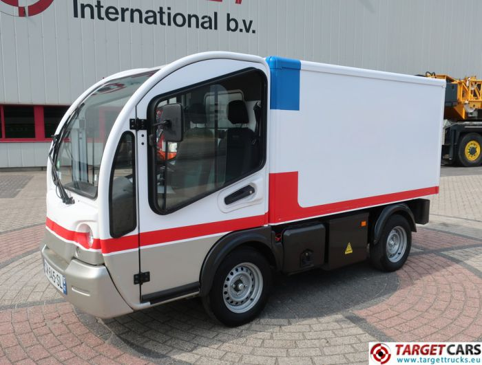 GOUPIL G3 ELECTRIC UTILITY VEHICLE UTV CLOSED BOX LONG VAN 07-2013 WHITE 19344KM