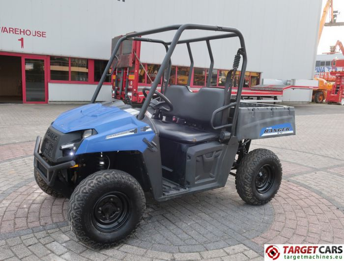 POLARIS RANGER EV UTV 4x4 UTILITY VEHICLE ELECTRIC 2012 BLUE