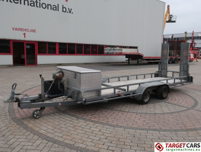 PIJNAPPEL PTA-2703/L 2-AXLE EQUIPMENT MACHINE TRAILER 07-2004 2700KG