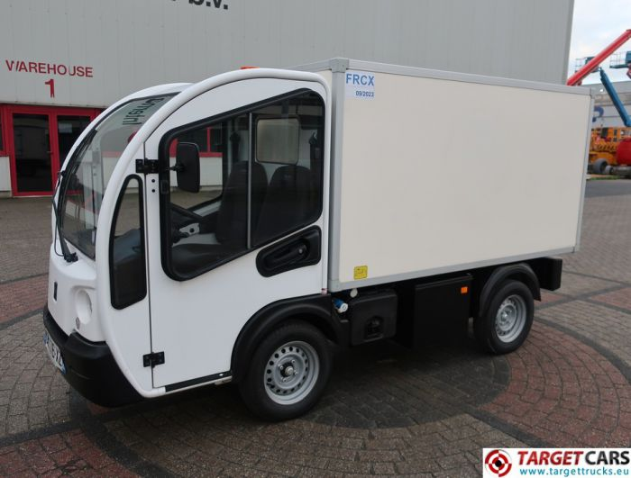 GOUPIL G3 ELECTRIC UTILITY VEHICLE UTV BOX LONG FRIDGE/FREEZER THERMO-KING VAN 11-2014 WHITE 486KM