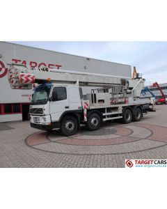 VOLVO FM12 420 420HP 8x4 TRUCK 03/02 WHITE W/MULTITEL J352TA BOOM LIFT 52M Multitel J352TA