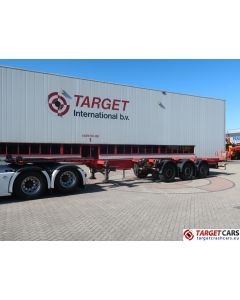 KRONE SD DA08CLSF CONTAINER CHASSIS 40FT/40FT HC/2x20FT 3-AXLE TRAILER 41T 10-2015