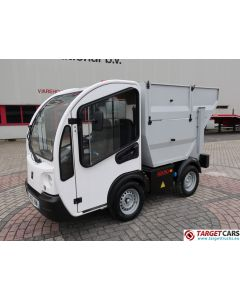GOUPIL G3 ELECTRIC UTILITY VEHICLE UTV GARBAGE TIPPER 03-2014 WHITE 4743KM