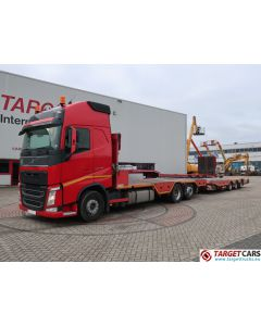 VOLVO FH13 500 6x2 MACHINERY TRANSPORTER W/MEUSBURGER SUPERSTRUCTURE / TRAILER MPT-3 04/2014 DE REG 542888KM
