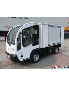 GOUPIL G3 ELECTRIC UTILITY VEHICLE UTV CLOSED BOX LONG WIDE VAN 02-2014 WHITE 7136KM