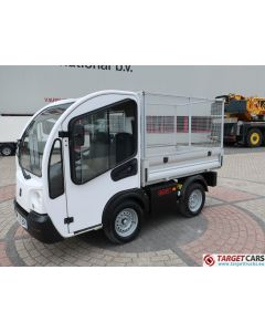 GOUPIL G3 ELECTRIC UTILITY VEHICLE UTV OPEN PLATFORM VAN 06-2013 WHITE 16868KM