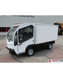 GOUPIL G3 ELECTRIC UTILITY VEHICLE UTV CLOSED BOX LONG WIDE VAN 05-2012 WHITE 4644KM