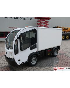 GOUPIL G3 ELECTRIC UTILITY VEHICLE UTV CLOSED BOX LONG VAN 11-2014 WHITE 8515KM