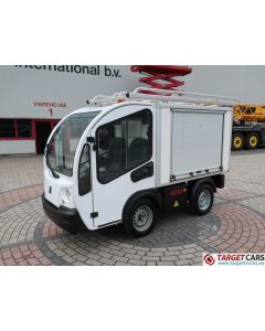 GOUPIL G3 ELECTRIC UTILITY VEHICLE UTV CLOSED BOX VAN 12-2013 WHITE 16332KM