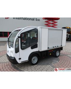 GOUPIL G3 ELECTRIC UTILITY VEHICLE UTV CLOSED BOX LONG WIDE VAN 02-2014 WHITE 20845KM