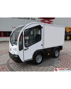 GOUPIL G3 ELECTRIC UTILITY VEHICLE UTV CLOSED BOX VAN 06-2012 WHITE 5938KM