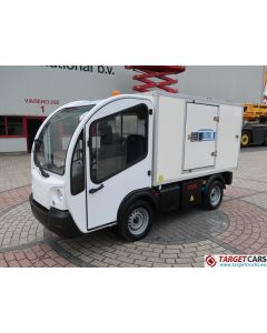 GOUPIL G3 ELECTRIC UTILITY VEHICLE UTV BOX LONG FRIDGE/FREEZER THERMO-KING VAN 06-2012 WHITE 11755KM