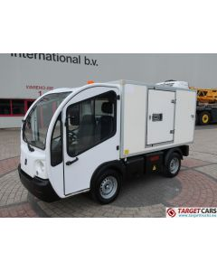 GOUPIL G3 ELECTRIC UTILITY VEHICLE UTV BOX LONG FRIDGE/FREEZER THERMO-KING VAN 07-2011 WHITE 48328KM
