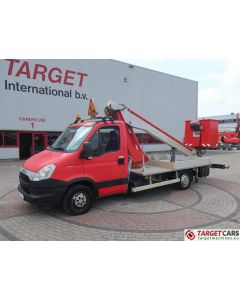 IVECO DAILY 35S11 W/ MULTITEL 160ALU/DS BOOM WORK LIFT 1600CM 07-12