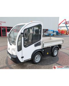GOUPIL G3 ELECTRIC UTILITY VEHICLE UTV OPEN PLATFORM SHORT VAN 04-2015 WHITE 14664KM