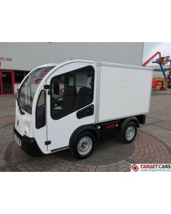 GOUPIL G3 ELECTRIC UTILITY VEHICLE UTV CLOSED BOX VAN 11-2014 WHITE 4279KM