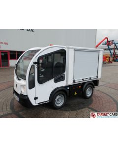 GOUPIL G3 ELECTRIC UTILITY VEHICLE UTV CLOSED BOX VAN 10-2014 WHITE 2890KM