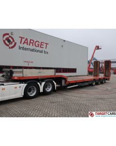 NOOTEBOOM OSDS-48-03 SEMI 3-AXLE LOW LOADER LOWBED TRAILER 11-2011 RED